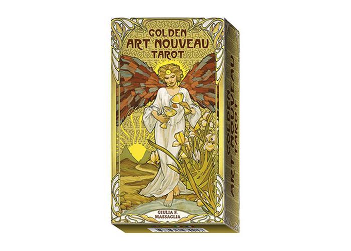 Golden Art Nouveau Tarot - ონლაინ ტარო